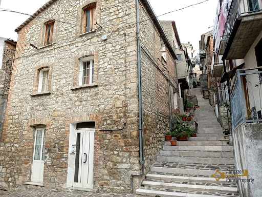 traditional san buono stone house abruzzo