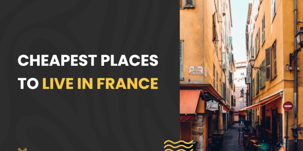 Cheapest places to live in France